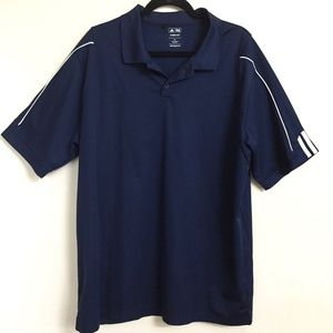 Polo Navy Blue ADIDAS Sz XL